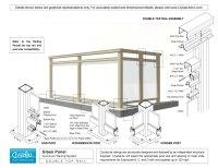 Glass Balcony Railing Detail