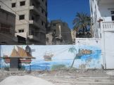 A mural in Tyre.