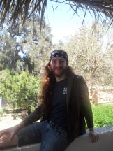 Michael Lubbert (yoga teacher and rock star) enjoying his second trip to the south.