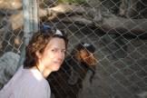 Rima and the hermaphrodite goat that Mona saved.