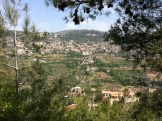 From my second hiking trip in the Chouf with Footprints...where people only occasionally plummet to their deadth