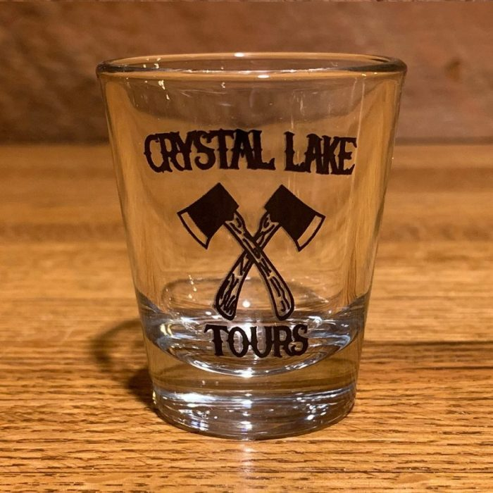 Crystal Lake Tours Black Shot Glass