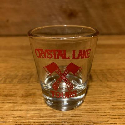Crystal Lake Tours Red Shot Glass