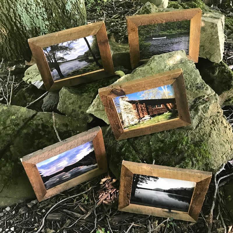Custom Reclaimed Wood Frame