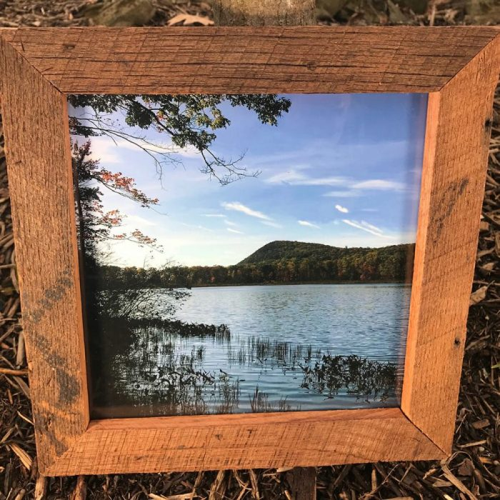 Framed Lake Photo #2