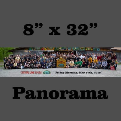 "May 2019 Friday Morning Tour Group 8"" x 32"" Panorama"