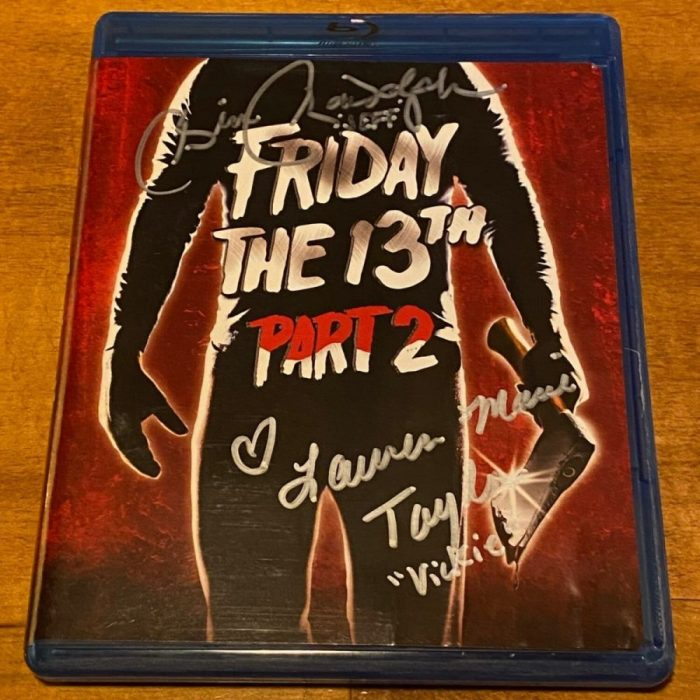 Signed Part 2 Blu-ray - 2 Autographs