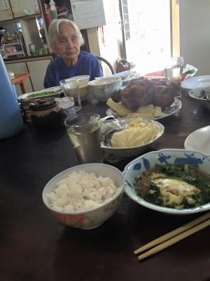 お母さんのお母さん、100歳(*'▽')