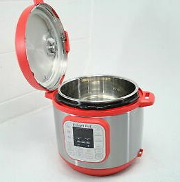Red Instant Pot Duo 60