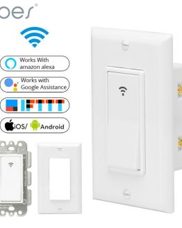 Smart Remote-Controlled Wall Switch