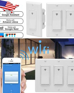 Smart WiFi Wall Switch