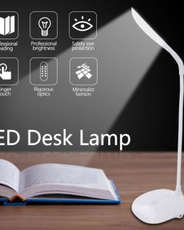 Smart Touch Dimmable Bedside Lamp