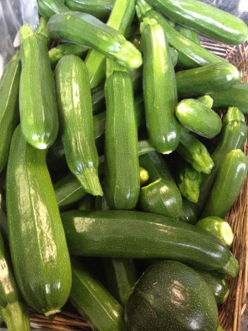 Wild Country: New season courgettes