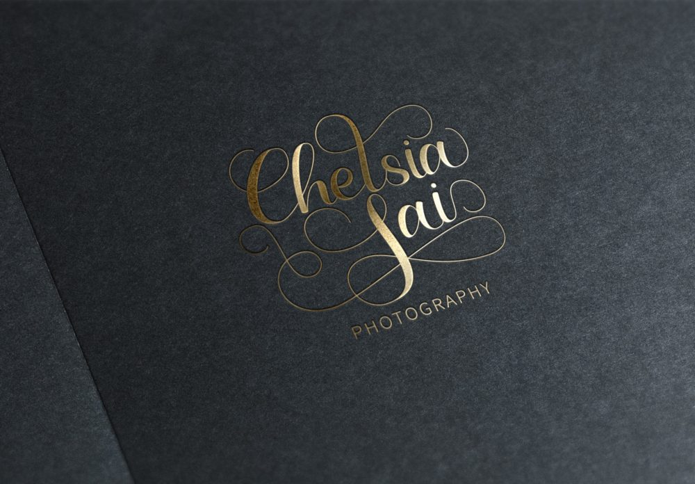 CL Photography Logo Gold