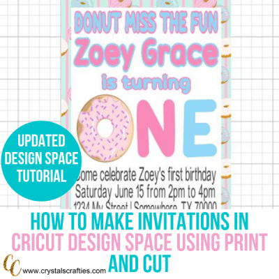 How to Make Invitations in Cricut Design Space