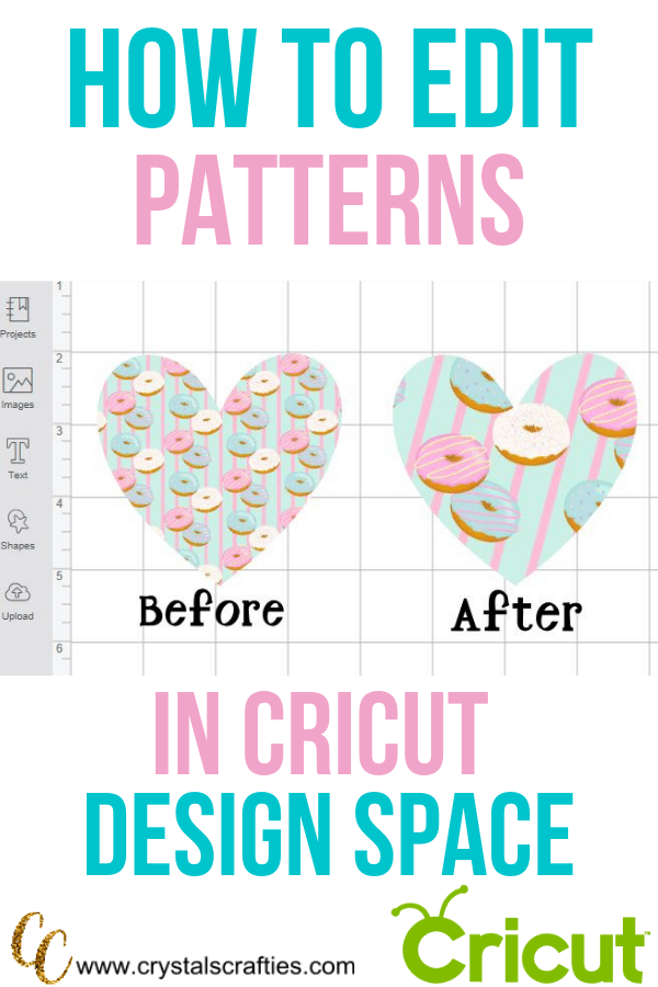 How to Edit Patterns in Cricut Design Space