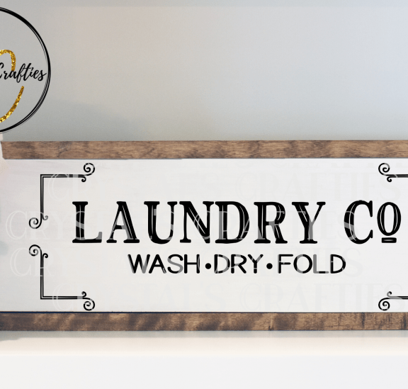 Laundry Sign SVG