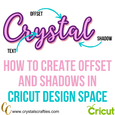 How to create an offset and shadow in Cricut Design Space