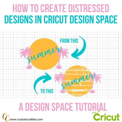 How to Create Distressed Designs in Cricut Design Space