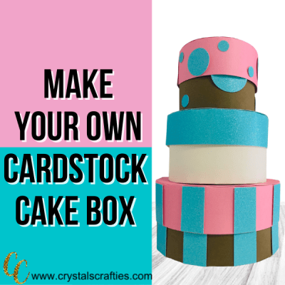 3D Cake Boxes