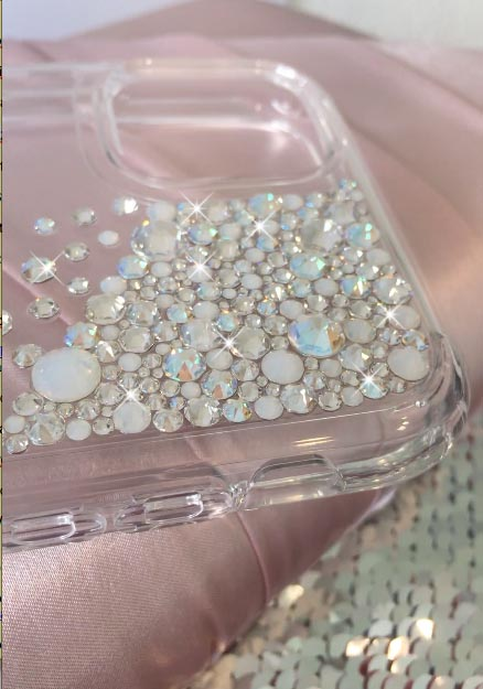 Cascade moonlight Swarovski® phone case
