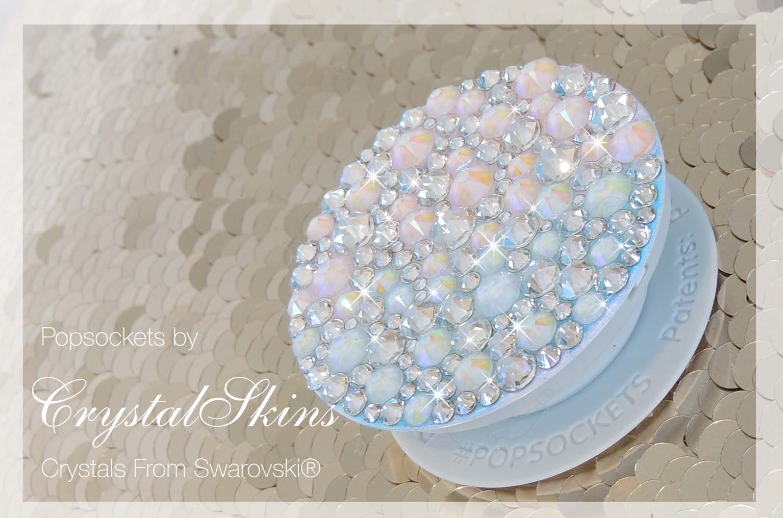 Unicorn Bling Crystal Popsoket. Crystals by Swarovski®