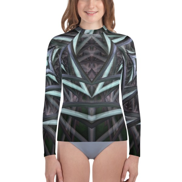 Centered Vortex Rash Guard