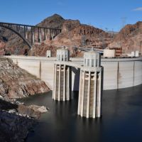 Hoover Dam and Arizona rain