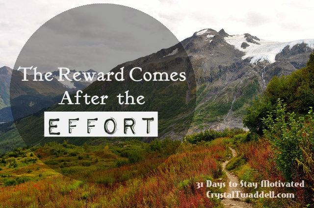 Effort Releases the Reward