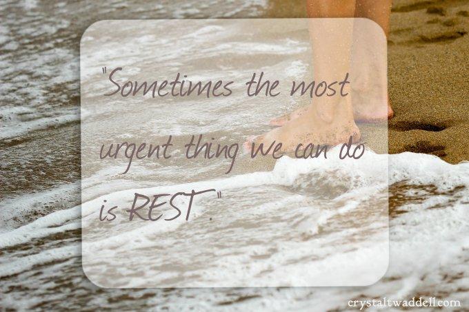 rest urgent