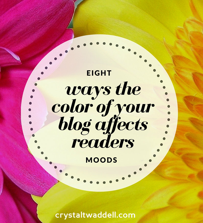 Eight Ways the Color of Your Blog Affects Reader's - Fresh Market Friday