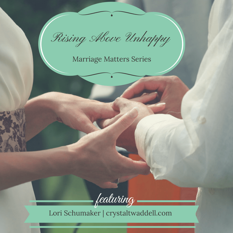 Rising Above Unhappy: Marriage Matters Series