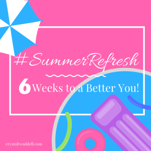 Summer Refresh Button