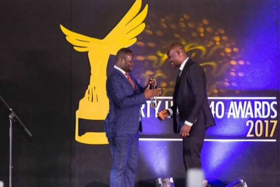 40-Under-40: Prince Siita Sofo emerges winner of Media category