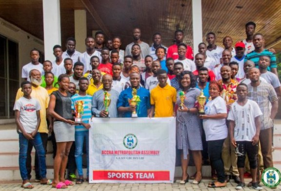 AMA wins Inter-districts sports competition