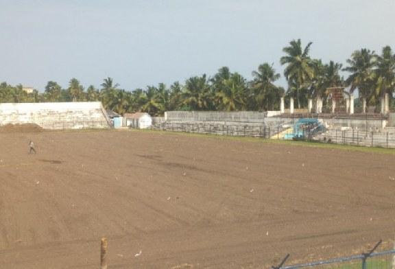 Re-grassing of Robert Mensah Sports Stadium for 2018 Africa Women Cup begins
