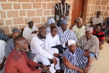 North East NPP Executives Visit Nayiri
