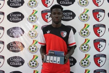 WAFA star Augustine Boakye wins Player of the Month for June