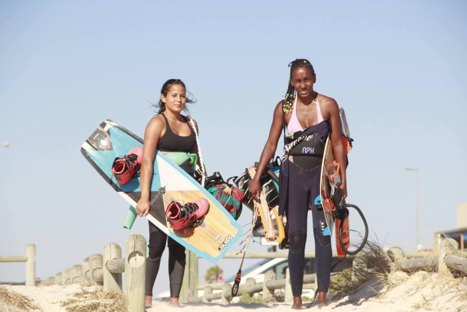 Crystal Veness and Lisa Videira