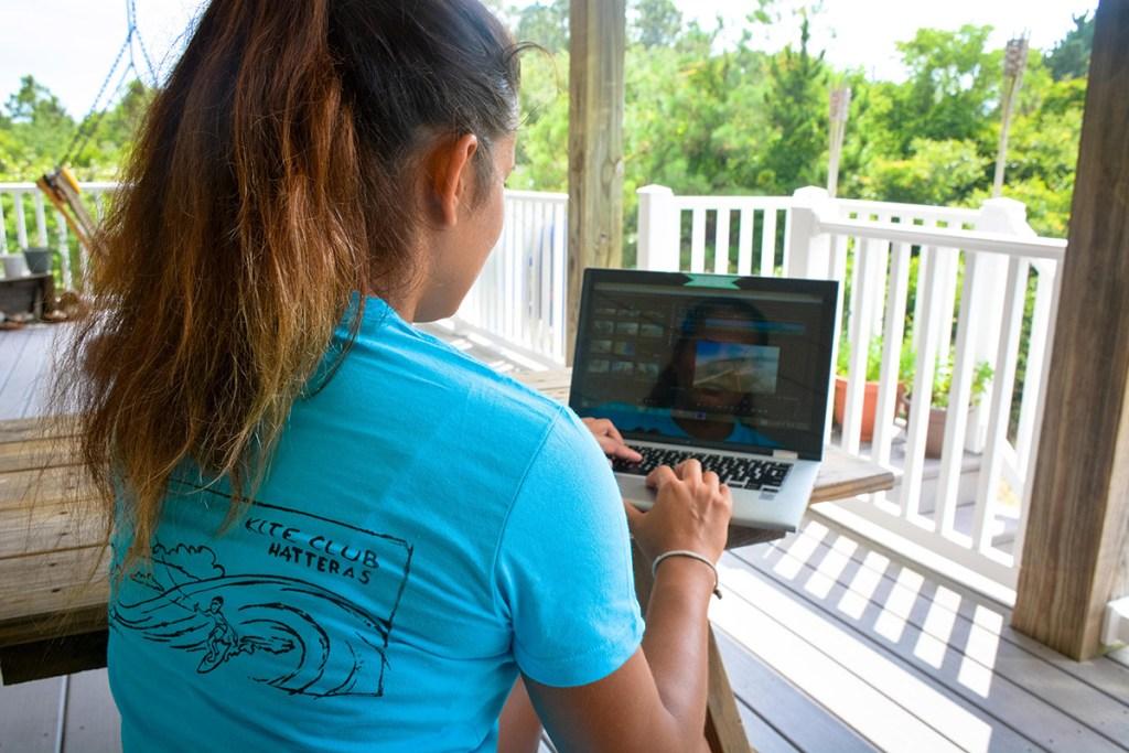 Digital Nomad Life - Crystal Veness + Kite Club Hatteras