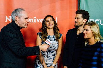 Kelly Brook, Nick Zano & Elisha Cuthbert 'One Big Happy'