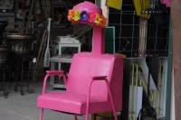 Pink Stylist Chair | Trailer Park Princess