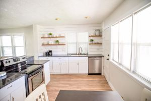 kitchen open shelving - Crystel Montenegro at Home