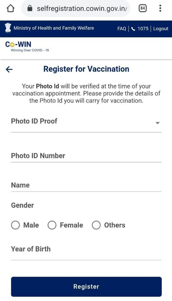 book you vaccine easy by using COVIN website.