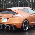 Terra Force Japan has produced possibly the worst looking kit so far for the Honda CR-Z. Although the design seems to focused more on hyper-milling aerodynamics than sports design, it […]