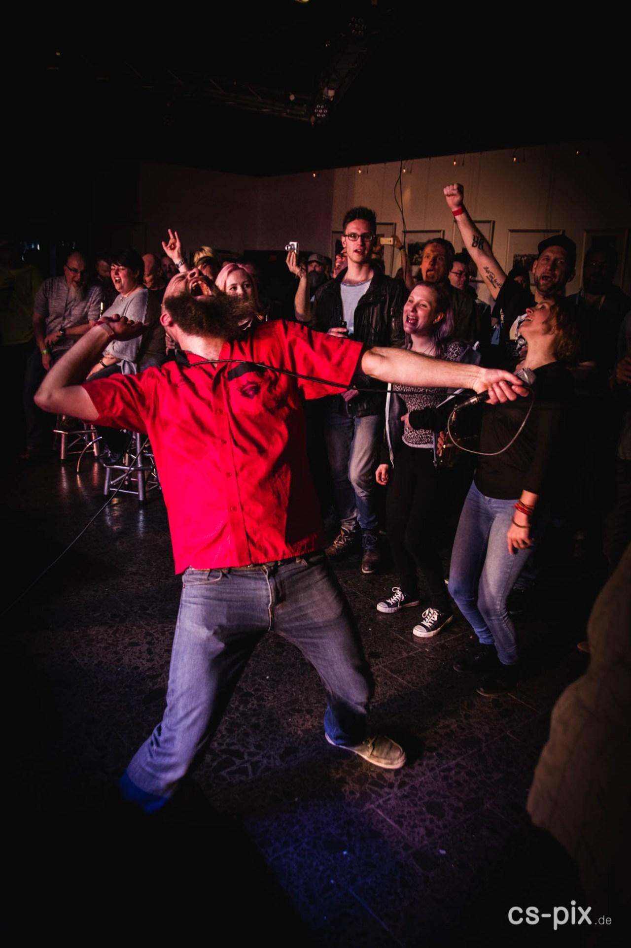 Fitches, Sweepland Getaway - Solche Momente erlebst du nicht auf den großen Bühnen