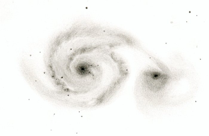 The Whirlpool Galaxy M51  Astronomy Magazine  Interactive Star Charts Planets Meteors