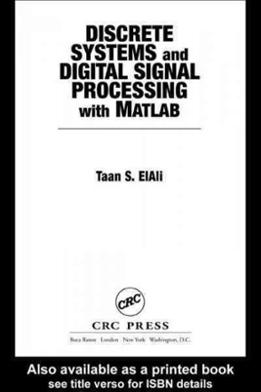 Discrete Systems and Digital Signal Processing with MATLAB
