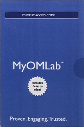 MyOMLab with Pearson EText -- Access Card -- for ...