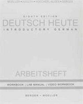 Deutsch Heute Workbook + Answer Key 8th Ed 8th edition